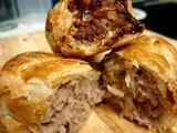 Pork, Leek & Apple Sausage Rolls of much deliciousness
