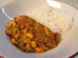 Prawn & Pineapple curry - mmmnn, fruity