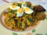 Quick Chicken Biryani - an  after the style of  recipe