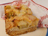 Rhubarb Dream Bars - cakies of much deliciousness