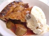 Rhubarb & Strawberry Pie - revisited