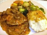 Slow Cooker Veal Marsala - using British Rose Veal at its best