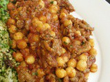 So simple!  Spicy minced lamb