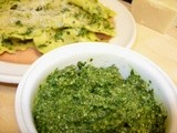 Sorrel Pesto - what a pleasant surprise