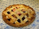 Spiced Blackberry and Apple Lattice Pie