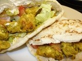 Spicy Chicken in Pitta Bread
