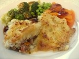 Today's dinner : Medicinal Shepherd's Pie