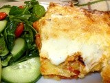 Tuna & Vegetable Lasagne - very definitely out of the ordinary