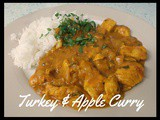 Turkey and apple curry - a variation upon a theme