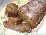 What to do with some ageing bananas?  Why, Banana Bread, of course