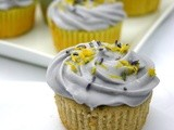 Honey, Lavender, and Lemon Cupcakes