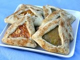 Lemon Poppy and Apricot Almond Hamentashen