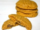 Peanut Butter Cookies Two Ways