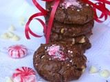 Peppermint Vs. Andes - Peppermint Bark Cookies