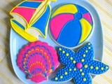 Summer Fun Cookies Decorating Tutorial