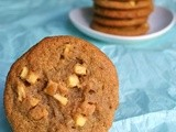 Vegan Apple Peanute Butter Cookies