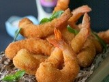 Crispy Prawns with Coconut & Lime