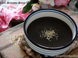 Easy Way Homemade Black Sesame Soup 简易芝麻糊(五分钟炮制一碗香滑可口芝麻糊)
