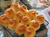蜂蜜优格甜薯面包卷 Honey Yoghurt Sweet Potato Bread Rolls