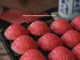 粉紅龜粿 Pink Ang Ku Kueh with Mung Bean Filling