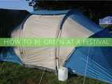How to be green at a festival