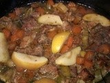 Pork, leek & apple casserole