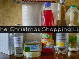 The Christmas Shopping List