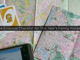 The Essential Checklist for This Year's Family Holiday