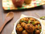Chettinad potato fry recipe | Baby potato roast