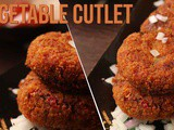 Crispy Vegetable cutlet recipe