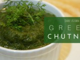 Green chilly Chutney for dosa | Green chilli coriander chutney | Onion coriander chutney