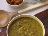 Green Gram curry recipe | Cherupayar curry