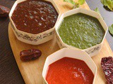 How to make Chutneys for Chaat | 3 ways