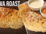 Instant Rava roast recipe | Easy Crispy Rava roast