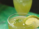 Lemon mint cooler recipe | Pudina nimbu ka paani