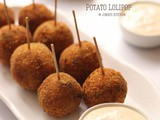 Potato Lollipop recipe | crispy potato balls
