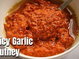 Spicy Garlic Chutney Recipe | Poondu Kara Chutney for idli / dosa / paniyaram