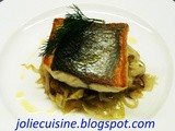 Filetto di branzino ai finocchi