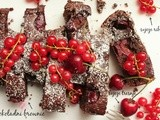 Brownie sa trešnjama i ribizlama | Brownie with cherries and currants