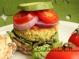 Lebleburger // Chick pea burger