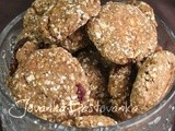 Ovasni kolačići sa bananom // Oat meal cookies with banana