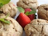 Posni mafini sa jagodama // Muffins with strawberries