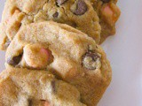 Chocolate chips and candy cookies