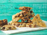 Chocolate Chip Cookie Brittle ~ Crunchy Goodness #SundaySupper