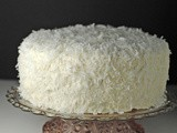 Coconut Cake with Coconut Buttercream Frosting ~ Easter + Passover #SundaySupper