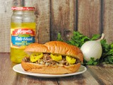 Crockpot Italian Beef Sandwiches ~ One Pot #SundaySupper