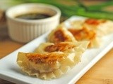 Shrimp and Pork Potstickers…Plus Foodie Pet Peeves