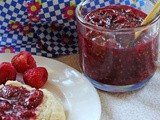 Strawberry, Raspberry, & Vanilla Bean Quick Jam…i'm Jammin'