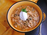 The Neely's White Turkey Chili ~ Celebrity Chef #SundaySupper