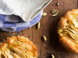 Apple cardamom tart and the Bazaar cookbook is finished